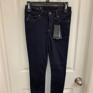 Armani Exchange Super Skinny Dark Jean 26